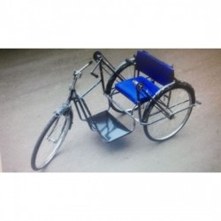Handicap Tricycle Double Hand Drive