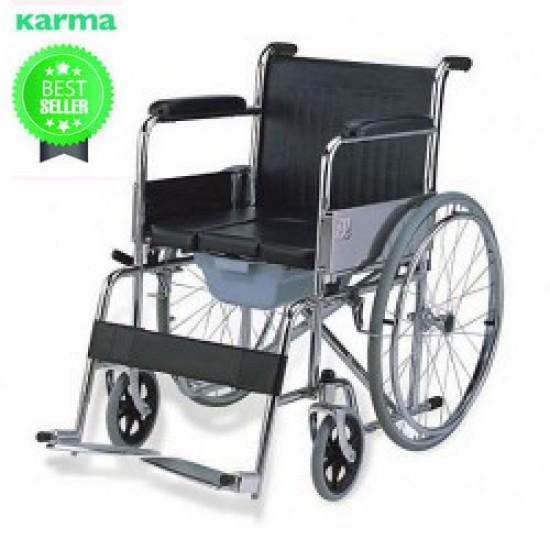Karma Rainbow 6 Commode Wheelchair