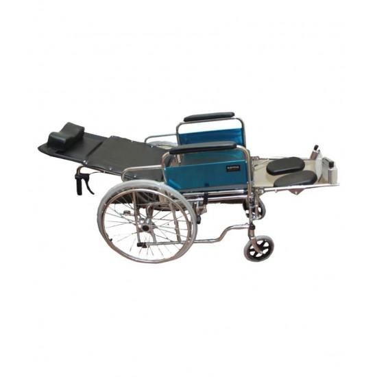 Karma Rainbow 8 Reclining Wheelchair With Commode