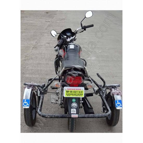 Side Wheel Attachment Kit For Hero HF Delux