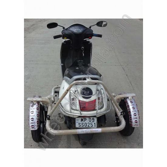 Side Wheel Attachment Kit for TVS Jupiter @RS 10990
